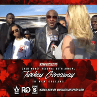 WSHH Exclusive @Birdman5Star Returns Home To New Orleans For Cash Money's 20th Annual Turkey Giveaway! LiveNow Exclusive Birdman NewOrleans TurkeyGiveaway CashMoneyRecords dir- @_davyboi @streetgrinddvd: WSHH EXCLUSIVE  CASH MONEY RECORD S 2 OTH ANNU AL  IN NEW ORLEANS  WATCH NOW ON WORLDSTARHIPHOP COM WSHH Exclusive @Birdman5Star Returns Home To New Orleans For Cash Money's 20th Annual Turkey Giveaway! LiveNow Exclusive Birdman NewOrleans TurkeyGiveaway CashMoneyRecords dir- @_davyboi @streetgrinddvd
