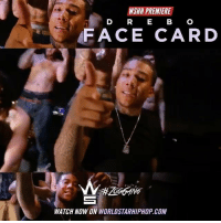 "Memes, Worldstarhiphop, and Wshh: WSHH PREMIERE  D RE BC  FACE CARD  WATCH NOW ON WORLDSTARHIPHOP.COM WSHH Premiere @Drebo1738 ""Face Card"" LiveNow Drebo FaceCard ZooGang"