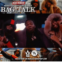 "Memes, Worldstarhiphop, and Wshh: WSHH PREMIERE  MAINO FEAT. DAVE EASTJAQUE  BAG TALK  5  WATCH NOW ON WORLDSTARHIPHOP. COM WSHH Premiere @MainoHustleHard Feat. @DaveEast & Jaque ""Bag Talk"" LiveNow Maino DaveEast BagTalk HustleHard"