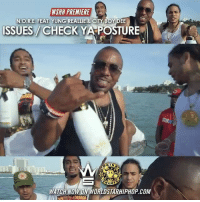 "Memes, Worldstarhiphop, and Wshh: WSHH PREMIERE  N. O.R.E. FEAT. YUNG REALLIE & CITY BOY DEE  ISSUES CHECK YA POSTURE  IN  WATCH NOW ON WORLDSTARHIPHOP.coM WSHH Premiere @TheRealNoreaga Feat. @Yung_Reallie, @RealCityBoyDee & @Sanogram ""Issues - Check Ya Posture"" LiveNow Exclusive Nore DrinkChamps dir- @rich_blanco"