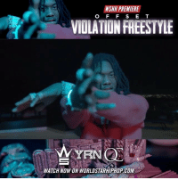 "Memes, Worldstarhiphop, and Wshh: WSHH PREMIERE  O F F S E T  VIOLATION FREESTYLE  WYEN  WAICH NOW ON WORLDSTARHIPHOP.COM WSHH Premiere @OffsetYRN ""Violation Freestyle"" LiveNow Offset ViolationFreestyle ControlTheStreetsVol1 QC YRN dir- @oggizery_june"
