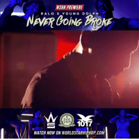 """Fam, Worldstarhiphop, and Wshh: WSHH PREMIERE  RALO X YOUNG DOLPH  FAM  GOO  WATCH NOW ON WORLDSTARHIPHOP.COM #WSHH Premiere @RaloFamGoon & @YoungDolph """"Never Going Broke"""" https://t.co/A3X0fU497s #RaloLaFlare https://t.co/okScQt6nbD"""