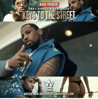 "Fabolous, Memes, and Trey Songz: WSHH PREMIERE  TREY SONGZ & FABOLOUS  WATCH NOW ON WORLDSTARHIPHOP COM WSHH Premiere @TreySongz & @MyFabolousLife ""Keys To The Street"" LiveNow Exclusive TreySongz Fabolous KeyToTheStreet TrappyNewYear dir- @jonjvisuals"
