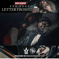 "Memes, Worldstarhiphop, and Wshh: WSHH PREMIERE  YFN LUC CI  LETTER FROMLUCCI  IG  WATCH NOW ON WORLDSTARHIPHOP.COM WSHH Premiere @YFNLucci ""Letter From Lucci"" LiveNow YFNLucci LetterFromLucci WishMeWell2 TIGRecords dir- @jerryphd @azaeproduction"