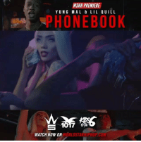 """Memes, Worldstarhiphop, and Wshh: WSHN PREMIERE  YUNG MAL & LIL UILL  HO N EBOOK  S 1017  WATCH NOW ON  WORLDSTARHIPHOP.COM WSHH Premiere @YungMal__15 & @Lil.Quill """"Phonebook"""" LiveNow YungMal LilQuill Phonebook KidsOfThe6 1017Records dir- @teedray"""