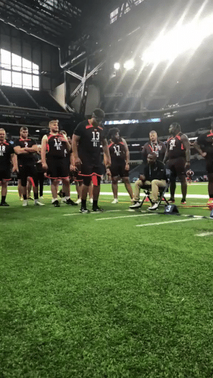 "Memes, 🤖, and Jump: .@WSUCougFB OL @AndreDillard_  notches a 9' 10"" broad jump. #NFLCombine https://t.co/TeJeVHL9mU"