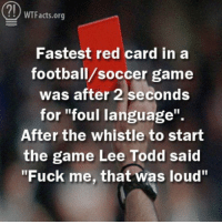 fastest red card