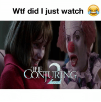 "Ass, Crazy, and Daquan: Wtf did I just watch  NURING See even Pennywise was scared of this lil crazy ass girl 😥😂😂 I can't watch ""The Conjuring "" by myself - - Follow me for more funny videos @kmoorethegoat @kmoorethegoat - -full video link in my bio and subscribe to my channel Dayum 😂 - - wshh daquan kmoorethegoat funnyaf funnyvideos dayum theconjuring theconjuring2 annabelle halloween IT pennywise followme comedy"