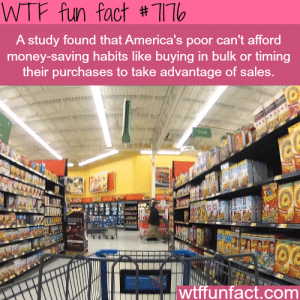 "bogleech: truefactsaboutlies:  wtf-fun-factss: Its expensive to be poor - WTF Fun Fact   -Terry Pratchett, Men at Arms   Despite being in a fantasy humor novel the ""boots theory"" is legitimately the actual reason poor people stay poor. Just apply it to literally everything else; food supply, car maintenance, clothes, teeth, toiletries, everything. : WTF fun fact #11  A study found that America's poor can't afford  money-saving habits like buying in bulk or timing  their purchases to take advantage of sales.  Pro  wtffunfact.com bogleech: truefactsaboutlies:  wtf-fun-factss: Its expensive to be poor - WTF Fun Fact   -Terry Pratchett, Men at Arms   Despite being in a fantasy humor novel the ""boots theory"" is legitimately the actual reason poor people stay poor. Just apply it to literally everything else; food supply, car maintenance, clothes, teeth, toiletries, everything."