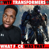 Funny, Memes, and Movies: WTF TRANSFORMERSE  WHATF*CK WAS THAT. Just seen the new Transformers and it pissed me off! 😡😡😡 WitChoDumbAss ——————————————————————————— FOLLOW (@JamesJeffersonJ ) FOR MORE FUNNY VIDEOS! JamesAndreJeffersonJr ——————————————————————————————— transformersthelastknight transformers optimusprime autobots movies movie bumblebee moviereviews moviereview