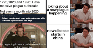 Wuhan Coronavirus Inspires Tons Of Plague Memes On Reddit: Wuhan Coronavirus Inspires Tons Of Plague Memes On Reddit