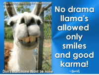 be happy <3: ww.fac  k.com/Afriendofh  man  Gro  p00  image via  ogle  No drama  llama's  allowed  only  smiles  and good  karma  nBarbE.  Don't start none Wont be none be happy <3