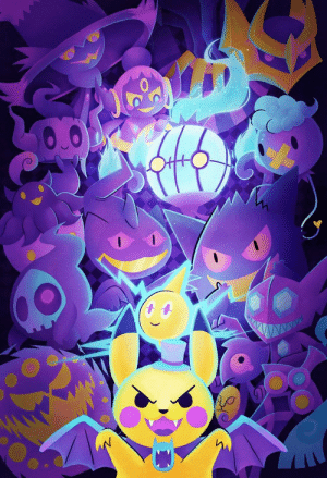 retrogamingblog:Ghost Pokemon Poster made by StarSalts: ww retrogamingblog:Ghost Pokemon Poster made by StarSalts