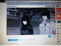 I'm scared to mess with smart people. -s: www.animel.com/watch/death-note/episode-6/2  Anime 1 Ongoing  Anime List Browse by Genre  Advanced Search  Latest Episode  Latest Anime Popular Anime  FAQ  10,81  Death Note Episode 6  Like  Video not Paying? Click Here  anime 1.com  Recibe  http:llanimese  English Subbed English Dubbed  Report Broken voeo 1674  Add to Favorites  E Add to Watchlist  f Share  Y Tweet  Death Note Episode 7  Death Note Episode 5 I'm scared to mess with smart people. -s