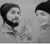 Everyday is a valentine day if you want it to be. You make everyday seem like one for me. <3 Virat Kohli + Anushka Sharma = Vıranushka ❤❤  Surprise Your Loved Ones With A Portrait Sketch. :) Do contact me for more details: http://m.me/artistAniruddha Sketch By Me~ Aniruddha Sarkar Like👉 Aniruddha Sarkar 👌 for more awesome drawings: fb.com/artistAniruddha ~ www.aniruddhasarkar.com ~: www.aninuddhasarkan com  artistAniruddha Everyday is a valentine day if you want it to be. You make everyday seem like one for me. <3 Virat Kohli + Anushka Sharma = Vıranushka ❤❤  Surprise Your Loved Ones With A Portrait Sketch. :) Do contact me for more details: http://m.me/artistAniruddha Sketch By Me~ Aniruddha Sarkar Like👉 Aniruddha Sarkar 👌 for more awesome drawings: fb.com/artistAniruddha ~ www.aniruddhasarkar.com ~