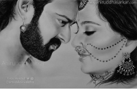 BAAHUBALI & DEVASENA 😍 Prabhas and Anushka Shetty in Baahubali <3 Sketch By Me~ Aniruddha Sarkar Like👉 Aniruddha Sarkar 👌 for more awesome drawings: fb.com/artistAniruddha ~ www.aniruddhasarkar.com ~: www.aniruddhasarkar.com  0  Follow My Arts f  @artistAniruddha BAAHUBALI & DEVASENA 😍 Prabhas and Anushka Shetty in Baahubali <3 Sketch By Me~ Aniruddha Sarkar Like👉 Aniruddha Sarkar 👌 for more awesome drawings: fb.com/artistAniruddha ~ www.aniruddhasarkar.com ~