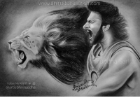 """AMARENDRA BAAHUBALI <3 """"Roaring Lion Prabhas"""" This Sketch Is Dedicated To All The #Prabhas Fans Out There. :) #Masterpiece  Sketch By Me~ Aniruddha Sarkar Like👉 Aniruddha Sarkar 👌 for more awesome drawings: fb.com/artistAniruddha ~ www.aniruddhasarkar.com ~: www.aniruddhasarkarcom  Follow My Arts f  @artist Aniruddha AMARENDRA BAAHUBALI <3 """"Roaring Lion Prabhas"""" This Sketch Is Dedicated To All The #Prabhas Fans Out There. :) #Masterpiece  Sketch By Me~ Aniruddha Sarkar Like👉 Aniruddha Sarkar 👌 for more awesome drawings: fb.com/artistAniruddha ~ www.aniruddhasarkar.com ~"""