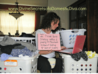 "Dank, Drinking, and Facebook: www.DivineSecretsofaDomesticDiva.com  I have been  drinking coffee  Playing on Facebook.  instead of folding  4t loods of laundry...  tall hamper A funny look back to some light-hearted ""Mom Shaming"" as nearly 20 of my friends and I aired our dirty laundry (or clean, in my case) while poking a little fun at ourselves. Can you relate to any of these? #MomShaming Check out the full list here http://www.divinesecretsofadomesticdiva.com/2012/10/08/mom-shaming/"