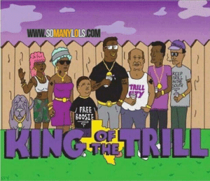 Only the realist prequel: www.SOMANYLOLS.COM  KEEP  TRILL  WTHE  TRILL  FREE  BOOSIE  OFL  THE  KING SMHL RILL Only the realist prequel