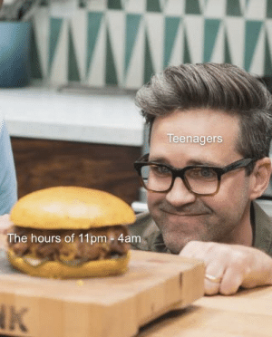 I can't be the only one, right?: www  Teenagers  The hours of 11pm - 4am  NK I can't be the only one, right?