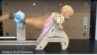9gag, Memes, and Duck: www.UDCO.ca  seless Duck Company after this, you dont have to burp your baby ever again - 📸@uselessduck - robot baby parenting 9gag genius babylove invention prototype