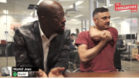 Memes, 🤖, and Jeans: Wyclef Jean  Wyclef  THE  SHOW The promised jam session from #AskGaryVee episode 212 with my man Wyclef finally went down .. So cool to see this come to fruition  ;)