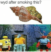 Smoking, Wyd, and This: wyd after smoking this?