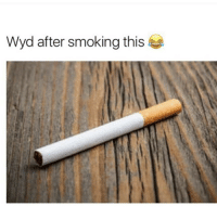 Call someone who smokes weed a drug addict and send me they reaction: Wyd after smoking this Call someone who smokes weed a drug addict and send me they reaction