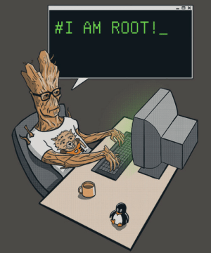 I AM ROOT.!: X  #1 AM ROOT!_ I AM ROOT.!