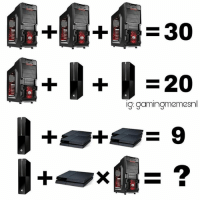 Who can do math? Comment the answer if you know it!👇🏼😎 ➖➖➖➖➖➖➖ 🎮Credit; @ 🃏Turn on Post Notifications 🦃Tag a Turkey ➖➖➖➖➖➖➖ 🃏Hashtags - (ignore please). CallofDuty Xbox fallout counterstrike BlackOps2 CodMemes Playstation Gamer Halo Halo5 Destiny Minecraft XboxOne Xbox360 GTA5 GTAV BlackOps3 9gag BO3 BO2 Treyarch Games VideoGames follow4follow steam csgo Memes l4l fallout4 😏Tag a friend if you see this😏: X  30  220  ig: gaming meme Who can do math? Comment the answer if you know it!👇🏼😎 ➖➖➖➖➖➖➖ 🎮Credit; @ 🃏Turn on Post Notifications 🦃Tag a Turkey ➖➖➖➖➖➖➖ 🃏Hashtags - (ignore please). CallofDuty Xbox fallout counterstrike BlackOps2 CodMemes Playstation Gamer Halo Halo5 Destiny Minecraft XboxOne Xbox360 GTA5 GTAV BlackOps3 9gag BO3 BO2 Treyarch Games VideoGames follow4follow steam csgo Memes l4l fallout4 😏Tag a friend if you see this😏