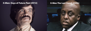 Dr Bolivar Trask in X-Men: The Last Stand (2006) and X-Men: Days of Future Past (2014): X-Men The Last Stand (2006)  X-Men: Days of Future Past (2014) Dr Bolivar Trask in X-Men: The Last Stand (2006) and X-Men: Days of Future Past (2014)