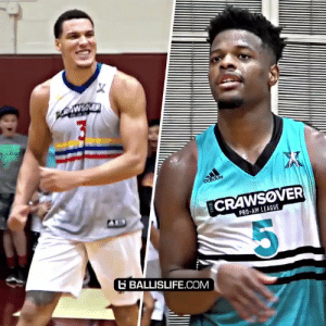 Dennis Smith Jr vs Aaron Gordon had a CRAZY DUNK Contest after the @TheCrawsover championship today!! @Double0AG @Dennis1SmithJr https://t.co/iYeb6Hj3mW: X  PNEAER  AWSVER  adidas  CRAWSOVER  PRO-AM LEAGUE  G BALLISLIFE.COM Dennis Smith Jr vs Aaron Gordon had a CRAZY DUNK Contest after the @TheCrawsover championship today!! @Double0AG @Dennis1SmithJr https://t.co/iYeb6Hj3mW