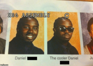 C and assembly relation: X86 ASSEMBLY  Daniel  The cooler Daniel  Ju  imgilp.com C and assembly relation