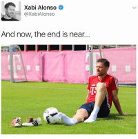 This is to much 😭😔 Follow @iamtrollfutbol: Xabi Alonso  @Xabi Alonso  And now the end is near. This is to much 😭😔 Follow @iamtrollfutbol