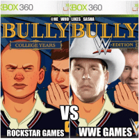 The WWE version would be a free roaming game where u can be JBL and Vince and just bully the rest of the roster 😂😂. wwe wwememe wwememes jbl vincemcmahon wwe2k17 wwefunny jimross johncena sethrollins romanreigns deanambrose wrestler wrestling wrestlingmemes professionalwrestling prowrestling videogames worldwrestlingentertainment wweuniverse wwenetwork wwesuperstars raw wweraw smackdown smackdownlive nxt sdlive mondaynightraw wwenxt: XBOX360  Li BOX 360  @HE WHO LIKES SASHA  EDITION  COLLEGE YEARS  ROCKSTAR GAMES WWE GAMES The WWE version would be a free roaming game where u can be JBL and Vince and just bully the rest of the roster 😂😂. wwe wwememe wwememes jbl vincemcmahon wwe2k17 wwefunny jimross johncena sethrollins romanreigns deanambrose wrestler wrestling wrestlingmemes professionalwrestling prowrestling videogames worldwrestlingentertainment wweuniverse wwenetwork wwesuperstars raw wweraw smackdown smackdownlive nxt sdlive mondaynightraw wwenxt