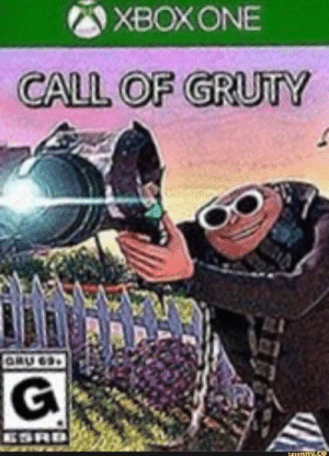Call of grudy: XBOXONE  CALL OF GRUTY  GRU 63  ESRD  16unny.s Call of grudy