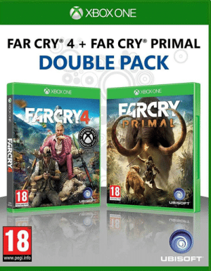 Are these games still worth getting? Been thinking about getting?: XBOXONE  FAR CRY 4+FAR CRY PRIMAL  DOUBLE PACK  O  ХВОХ ONE  ХВОХ ONE  FARCRY  PRIMAL  FARCRY  CEASTOY  GREATE  THIT  18  18  UBISOFT  UBISOFT  3000  69946  www.pegi.info  TROZI8U  TM  18  www.pegi.info  UBISOFT  HITS  OXBOXONE  FARCRY Are these games still worth getting? Been thinking about getting?