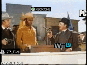 Post all the funny PS4 vs Xbox One stuff here! [Archive] - Page 3 ...: XBOXONE  PC  WiiU  VAYAGIF,CO Post all the funny PS4 vs Xbox One stuff here! [Archive] - Page 3 ...