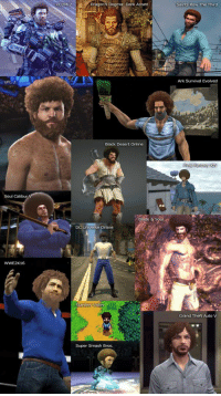 We need more Bob Ross in gaming. https://t.co/093blUCDow: XCOM 2  Dragon's Dogma: Dark Arisen  Saints Row The Third  O)  UFC 2  Ark Survival Evolved  Black Desert Online  Soul Calibur  Blade & Sout  Universe Online  WWE2K16  Stardew Va  Grand Theft Auto V  Super Smash Bros. We need more Bob Ross in gaming. https://t.co/093blUCDow