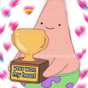 Good, Heart, and Wholesome: xo.wholesome.b  you won  my heart i hope you have a good day/night! send this to someone!💘 - f