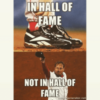 When is Curt Schilling getting in the HOF?: IN HALL OF  FAME  NOT INRHALLOF  FAME  enerator net When is Curt Schilling getting in the HOF?