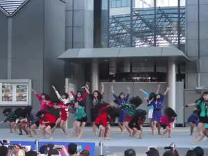 "xtremecaffeine:  mizunocaitlin:   antiandrogen:  momoeyamaguchi:  please watch this source  This is so intense like… if you miss your mark you get beheaded  You're doing them a disservice by not including who they are! These girls are high school students. They are the Tomioka High School Dance Club from Tomioka High School in Osaka. They went viral in Japan when they got runner up in the ""All-Japan High School Super Cup Dance-Off"" held as part of Yokohama's summer of dance this summer (August 2017). You'll know Yokohama's summers of dance from the regular mass Pikachu dances you see on social media each summer.  They've blown up since then. The promotional video they made at the school has more than 30 million views. They've been on tons of TV shows, including performances with Oginome Yoko, the original singer of the song (Dancing Hero (Eat You Up)) that they remixed for their dance.  This dance routine was riffing off the comedian Hirano Nora and actually includes some of her comedy catch phrases in the remix. (They even got her to join them eventually!) For the uninitiated, one of the most accessible forms of comedy in modern Japanese pop culture are comedians like this who create outlandish SNL type characters and then appear on one or more shows regularly as that character. Hirano Nora's gimmick is that she's a woman from the height of Japan's ""bubble economy"" era in the 80′s when there were tons of newly wealthy yuppies. This is why the remix is called ""Bubbly Dance"". (Compare her to similar comedy character Blouson Chiemi whose gimmick is that she's a modern, man eating career woman.) These girls deserve all the fame they're getting. You can read about them in the Asahi Shinbun and also check out this piece on Akane, their 25 year old coach via Japan Forward.    !!! : xtremecaffeine:  mizunocaitlin:   antiandrogen:  momoeyamaguchi:  please watch this source  This is so intense like… if you miss your mark you get beheaded  You're doing them a disservice by not including who they are! These girls are high school students. They are the Tomioka High School Dance Club from Tomioka High School in Osaka. They went viral in Japan when they got runner up in the ""All-Japan High School Super Cup Dance-Off"" held as part of Yokohama's summer of dance this summer (August 2017). You'll know Yokohama's summers of dance from the regular mass Pikachu dances you see on social media each summer.  They've blown up since then. The promotional video they made at the school has more than 30 million views. They've been on tons of TV shows, including performances with Oginome Yoko, the original singer of the song (Dancing Hero (Eat You Up)) that they remixed for their dance.  This dance routine was riffing off the comedian Hirano Nora and actually includes some of her comedy catch phrases in the remix. (They even got her to join them eventually!) For the uninitiated, one of the most accessible forms of comedy in modern Japanese pop culture are comedians like this who create outlandish SNL type characters and then appear on one or more shows regularly as that character. Hirano Nora's gimmick is that she's a woman from the height of Japan's ""bubble economy"" era in the 80′s when there were tons of newly wealthy yuppies. This is why the remix is called ""Bubbly Dance"". (Compare her to similar comedy character Blouson Chiemi whose gimmick is that she's a modern, man eating career woman.) These girls deserve all the fame they're getting. You can read about them in the Asahi Shinbun and also check out this piece on Akane, their 25 year old coach via Japan Forward.    !!!"