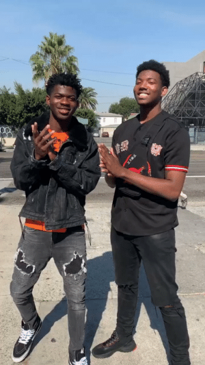 Y'all still think we look alike? @LilNasX https://t.co/FwvlqPxLg2: Y'all still think we look alike? @LilNasX https://t.co/FwvlqPxLg2