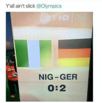 Ctfu, Dank, and Lol: Y all ain't slick @Olympics  NIG GER I'm offended . . . . savage hahaha hehe haha funny lol lmao lmfao done meme 😂 hood instafunny hilarious comedy vine vines bruh nochill video weak icanteven smh dank nochill ctfu omg video videos ha