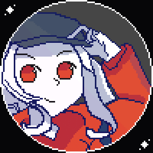 Cool, Hope, and Super: y PixelArt version of female snoo (Original created by u/molgera04 .(You did a super cool drawing hope you see this.))