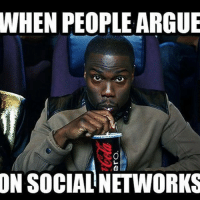 WHEN PEOPLE ARGUE  ON SOCIAL NETWORKS Like an episode of Jeremy Kyle on Facebook today 😌