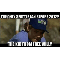 Free Willy: THE ONLY SEATTLE FAN BEFORE 2012?  THE KID FROM FREE WILLY  T
