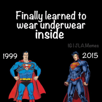 Who can please give me a shoutout?? I really need it🇺🇸💙❤️ JLAmemes: Finally learned to  Wear underwear  Inside  JLA Memes  1999  2015 Who can please give me a shoutout?? I really need it🇺🇸💙❤️ JLAmemes