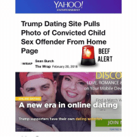 Convicted dating site