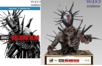 Amazon, Martin, and Memes: YAHOO  YAHOO  TV  IRST LOOK  BLU-RAY +DIGITAL HD  aMc  WALKING DEAD  T H  uni, ENG WALKING DEAD  aMC The Walking Dead: Season 7 Special Edition - Winslow  it's exclusive to Amazon and will be available in October. ~Martin